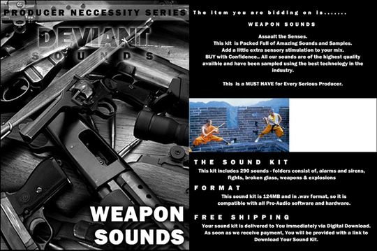Product picture WEAPONS Synth Loops minidv Club Style Sound Pack ep es